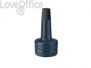 Inchiostro per timbri senza olio Pelikan flacone 28 ml nero 351197