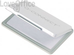 Cuscinetto per timbri Q-Connect 11x7 cm incolore KF25214