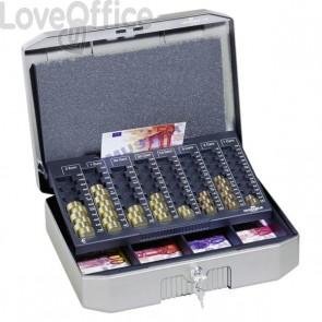 Cassetta portavalori €UROBOXX® Durable - 352 x 120 x 276 mm (L x H x P) - grigio antracite - 1782-57