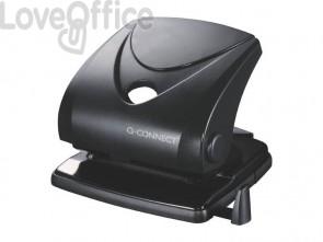 Perforatore a due fori Q-Connect nero 30 fogli KF01235
