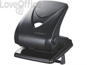 Perforatore a due fori Q-Connect nero 40 fogli KF01236