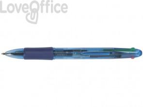 Penne a sfera Q-Connect quattro colori (conf. 10)