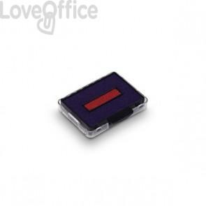 Cartucce Datario autoinchiostrante con testo commerciale Printy 4750 Trodat -  blu/rosso - 1422 (conf.3)