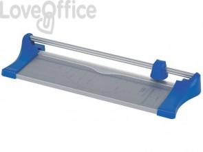 Taglierina a rullo Q-Connect grigio/blu fino a 10 ff A3 KF17012