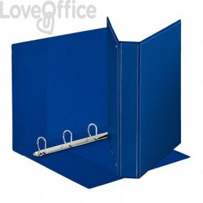 Esselte raccoglitore ad anelli personalizzabile Display - D - dorso 4,7 cm - Ø 30 mm - A4 maxi - blu