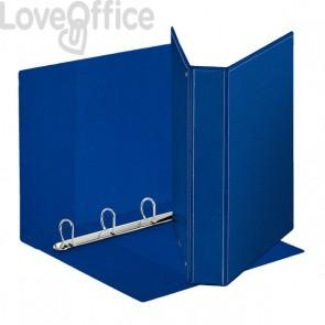 Esselte raccoglitore ad anelli personalizzabile Display - D - dorso 5,9 cm - A4 maxi - blu