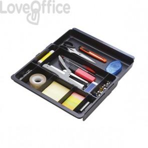 Vaschetta per cassettiera Exacompta - nero - 316014D