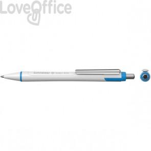 Penna a sfera a scatto nera Slider Xite XB Schneider - P133201