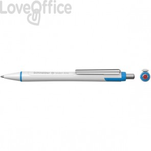 Penna a sfera a scatto rossa Slider Xite XB Schneider - P133202