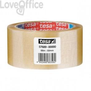 Tesa Nastro da imballaggio trasparente - acrilico - 50 mm x 66 m - 57689-00000-00 (conf.6)