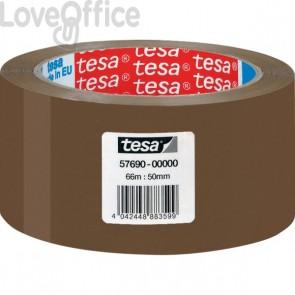 Tesa Nastro da imballaggio avana - acrilico - 50 mm x 66 m - 57690-00000-00 (conf.6)