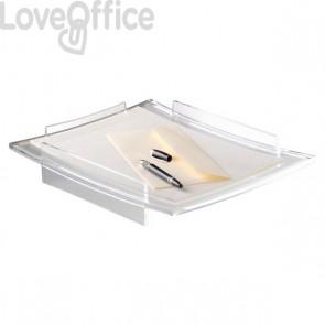 Vaschetta portacorrispondenza Acrylight CEP -  trasparente - 27,5x33,6x6 cm - 400C
