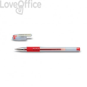 Roller gel ricaricabile Pilot G-1 Grip 0,5 mm rosso - 017137