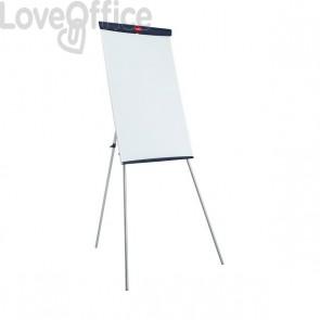 Lavagna portablocco Basic Steel Nobo - 67,5x100 cm - 1905243