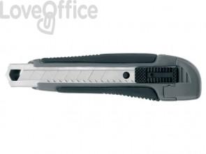 Cutter Westcott Professional larghezza lama 18 mm - guida lama metallo grigio / nero  E-84005 00