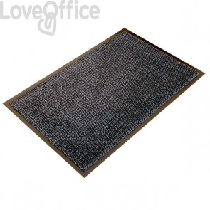 Zerbino antipolvere per interni Floortex - 60x90 cm - grigio/nero - FC46090ULTGR