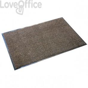 Zerbino antipolvere per interni Floortex - 60x90 cm - marrone/nero - FC46090ULTBR