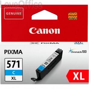 Cartuccia Canon Originale 0332C001 Cartuccia inkjet alta capacità CLI-571C XL 1 ciano