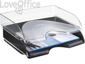 Vaschetta portacorrispondenza orizzontale impilabile CEP in polistirolo trasparente - 1135230111