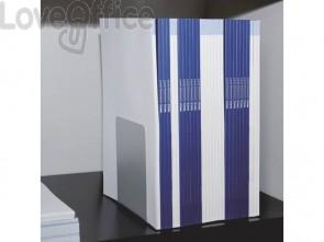 Reggilibri MAUL acciaio grigio 140x140x120mm 3506582 (conf.2)