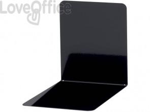 Reggilibri MAUL acciaio nero 140x140x120mm 3506590 (conf.2)
