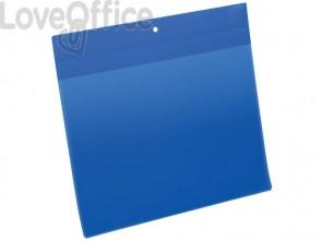 Tasche per identificazione Durable con magneti al neodimio blu f.to esterno mm. 311x280 -inserto A4 orizz. cf 10- 174807