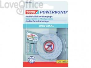 Nastri biadesivi tesa Powerbond Universale 19mm x 1,5m bianco 58565-00001-00