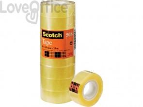 Nastro adesivo Scotch® 508 19 mm x 33 m trasparente - 508 (torre da 8 rotoli)