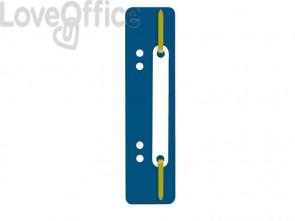 Pressini fermafogli adesivi Q-Connect 34x150 mm blu - 2012500410 (conf.25)
