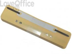 Pressini fermafogli adesivi Q-Connect 34x150 mm giallo - 2012500210 (conf.25)
