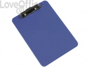 Portablocco con molla Q-Connect A4 blu  KF21625