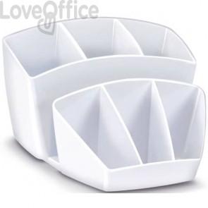 Portaoggetti da scrivania bianco artico CEP - 14.3 x 15.8 H 9.3 cm - 1005800021
