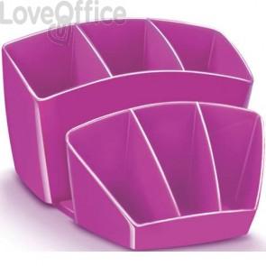 Portaoggetti da scrivania rosa CEP - 14.3 x 15.8 H 9.3 cm - 1005800371