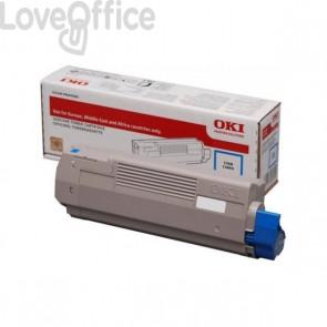 Originale Oki 46507507 Toner alta capacità 1 ciano