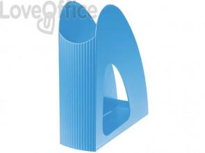 Portariviste LOOP HAN in polipropilene per formati fino A4/C4 azzurro 16210-54