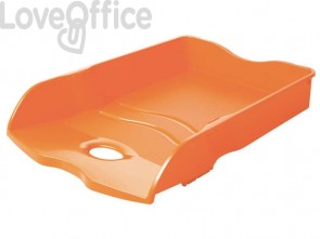 Vaschette portacorrispondenza accatastabili LOOP A4/C4 HAN in polipropilene arancione - 10290-51 (conf.6)