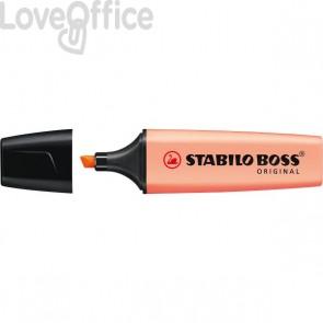Evidenziatore Stabilo Boss Pastel - pesca - 70/126 (conf.10)