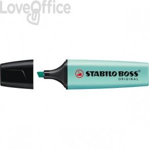 Evidenziatore Stabilo Boss Pastel - carta di zucchero - 70/113 (conf.10)