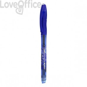 Penna cancellabile Gelocity illusion gel Bic - 0,7 mm - blu - 943440 (conf.12)