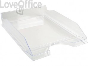 Vaschetta portacorrispondenza Exacompta ECOTRAY Office plastica A4+ cristallo 12323D