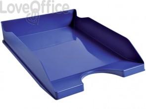 Vaschetta portacorrispondenza Exacompta ECOTRAY Office plastica A4+ blu notte 123104D