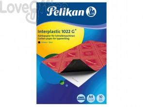 Carta carbone Pelikan Interplastic 1022G nero - 401026 (conf.10)