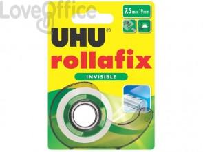 Nastro adesivo Uhu Rollafix 19 mm x 7,5 mt D1714