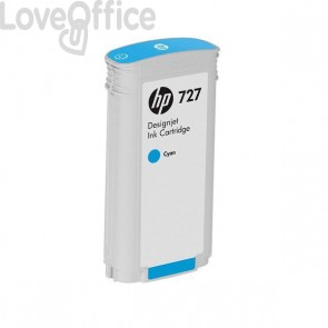 Originale HP F9J76A Cartuccia inkjet 727 - ml 300 1 ciano