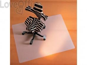 Tappeto salvapavimenti quadrato BSM opalino trasparente in PPL 90x120 cm 02-0900