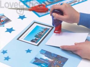 Colla roller Tesa Timbro Colla permanente per fissare carta o foto trasparente - 59099-00000-00