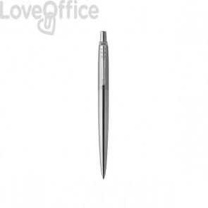 Jotter Stainless Steel Parker Pen - cromata - blu - M - 1953170