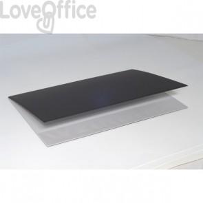 Sottomano doppio Neon Orna - 49x34,5 cm - nero - 0107NEO1000