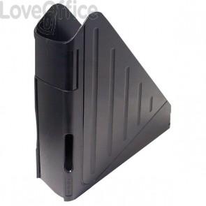 Portariviste con profondità maggiorata Arda - nero - 7,5x27x29,5 cm - 4118N