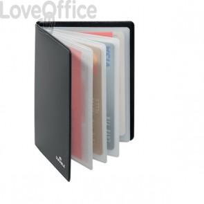 Libretto porta carte di credito e badge RFID SECURE Durable - Nr. spazi 8 - 2309-58